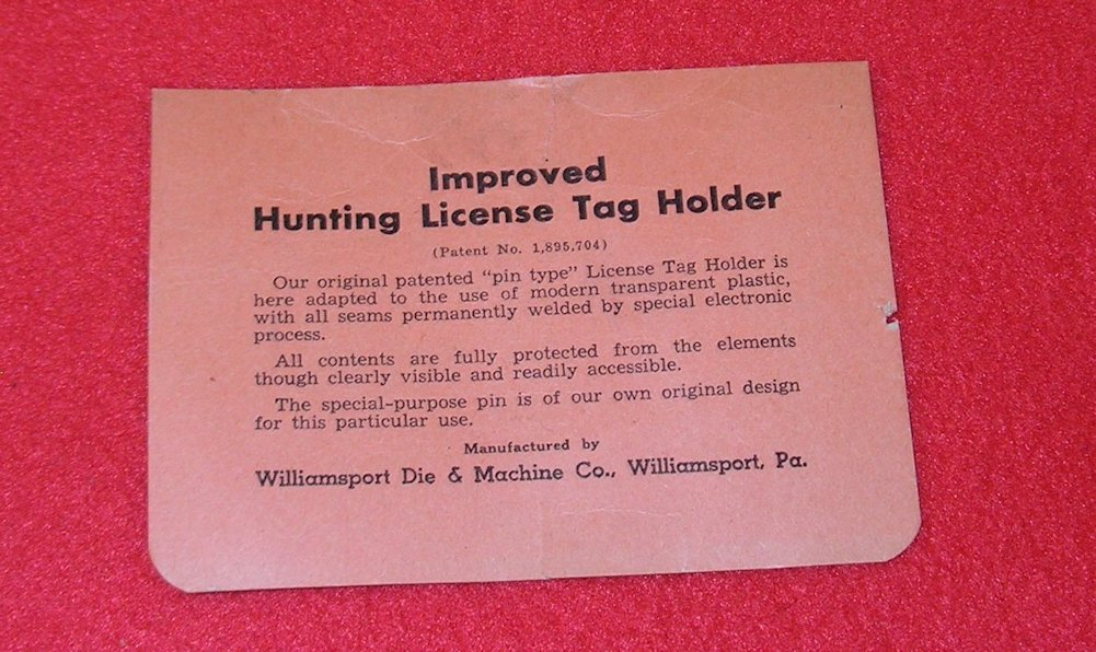 Vintage 1950 wv west virginia hunting fishing license with for Va fishing license